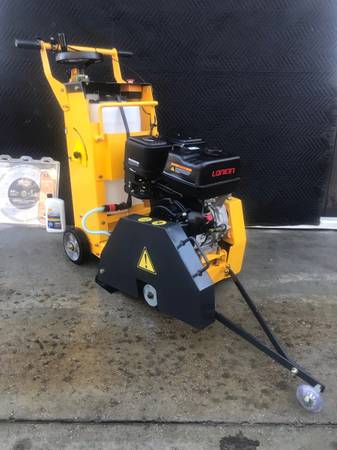 Photo CC2000 Mustang walk behind concrete floor saw wdiamond Blade self contained wat - $1,500 (Henderson)