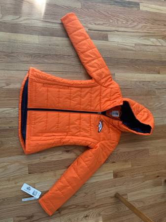 Photo Denver Broncos hooded jacket for a woman - size M - $45 (Dry CreekYosemite)