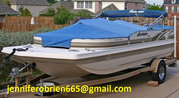 Photo Hurricane Deck Boat 198R - $1,500 (Box Elder)