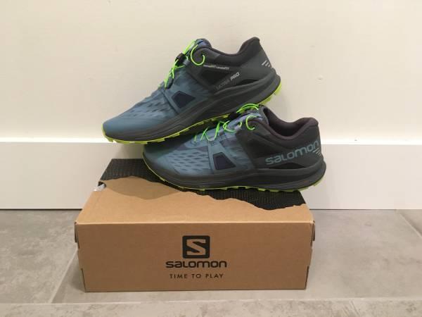 Photo NWT - Salomon Mens Ultra Pro Trail Running Shoes 9.5 - NEW - $80 (Lakewood)
