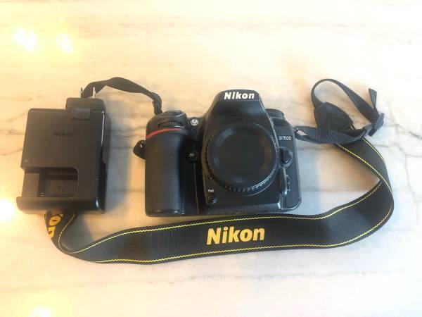 Photo Nikon D7500 Body Only - $700 (Denver)