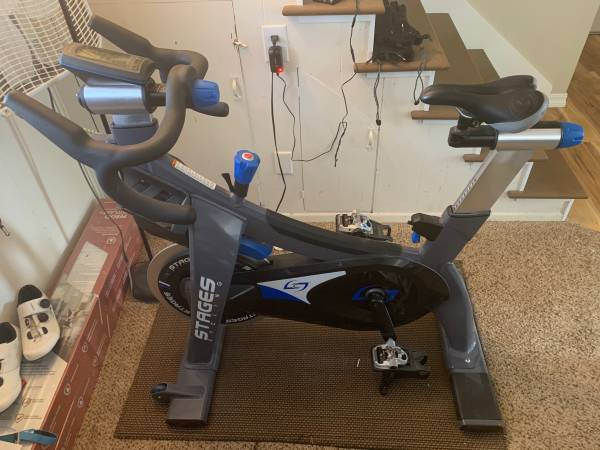 Photo Stages SC3 Spin Bike - $1,700 (Longmont)