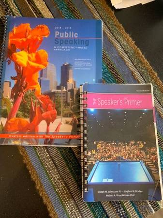 Photo Textbook for Metro State University Public Speaking Class - $25 (Littleton)