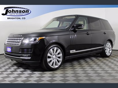 Photo Used 2017 Land Rover Range Rover Long Wheelbase Supercharged for sale