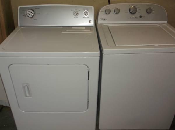 Photo Whirlpool Washer and Dryer - $123,456 (Cheyenne)