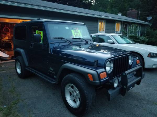 Photo 2004 Jeep Wrangler LJ (TJ Unlimited) With EXTRAS - $14500 (Clifford Twp)