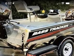 Photo 2 fish finders 2 new batteries Tracker Pro 175 Team TX 17  Trailer - $800 (Ringtown)