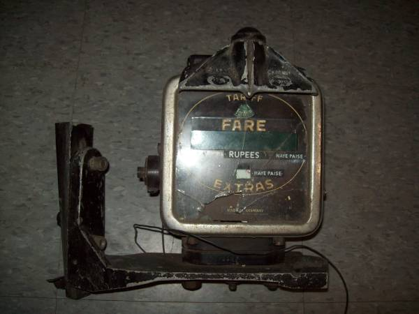 Photo Antique Taxi Meter for London cab - $295 (Hunlock Creek, PA)
