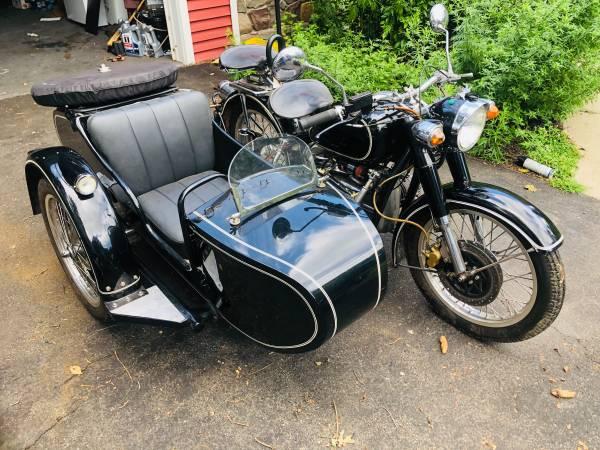 Photo CJ750 sidecar motorcycle for sale - $6,000 (tonawanda)