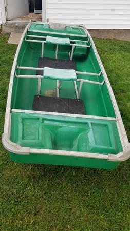 Photo Coleman Crawdad flat bottom Jon boat - $400 (Wilkes Barre)