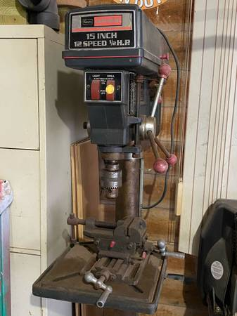 Photo Craftsman Drill Press (floor model) - $175