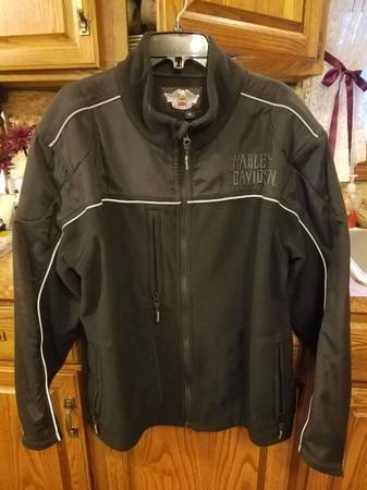 Photo Harley Davidson Windproof Fleece Jacket Mens XL - $100 (Mayfield)