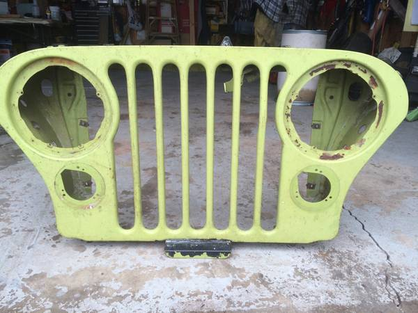 Photo Jeep CJ grill OEM 72-75 - $150