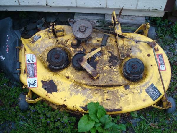 Photo John Deere LX176 LX172 LX173 LX178 LX186 38quot Mower Deck - Make Offer - $125 (Meshoppen)