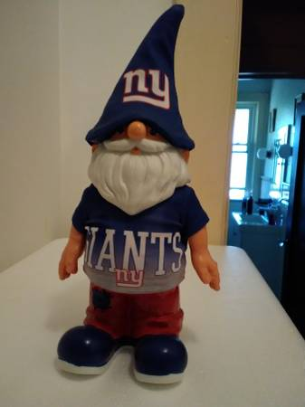 Photo NY Giants Gnome - $10 (Exeter)