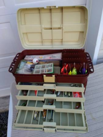 Photo PLANO 4 Drawer Tackle Box-Loaded - $300 (Drums, Pa.)