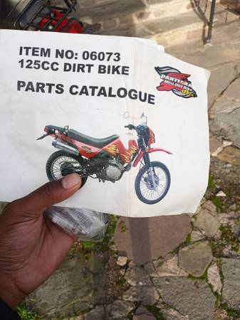 Photo Pantera mini dirt bike - $1,300 (Kingston)
