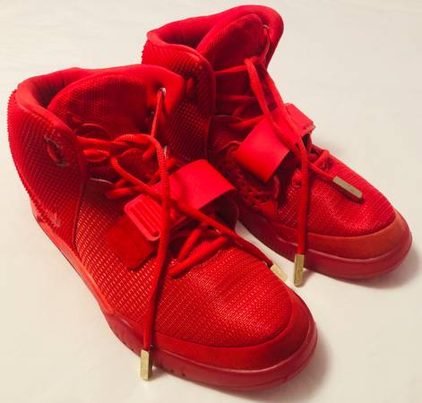 Photo REPLICA Size 9.5 Nike Air Yeezy 2 Red October Shoes - $180 (Poconos)