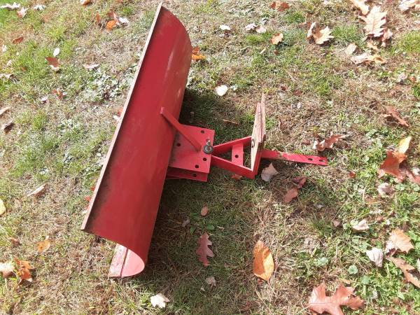 Photo Rare Troy bilt horse rototiller snow plow attachment - $120 (Hunlock creek)
