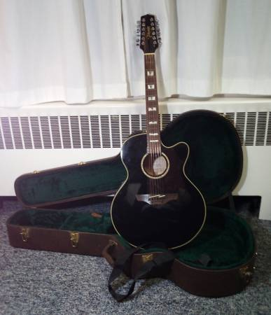Photo Takamine 12 string guitar - $500 (Hanover Township)