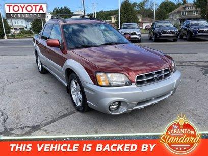 Photo Used 2003 Subaru Baja  for sale