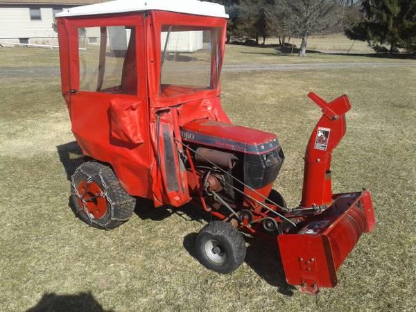 Photo Wheel Horse Tractor Cab - $400 (Honesdale)