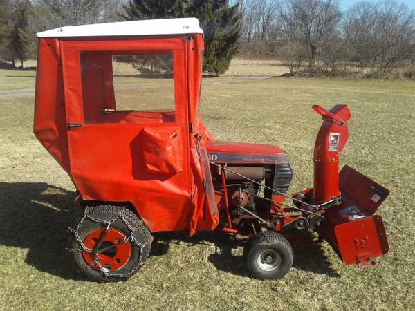 Photo Wheel Horse Tractor, Snowblower, Cab, Wheel Weights - $997 (Honesdale PA)