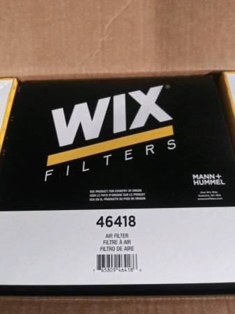 Photo Wix Air Filters For Ford Vehicles New In Box - $35 (Plymouth)