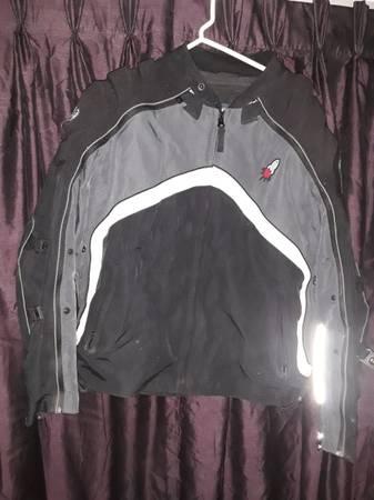 Photo joe rocket leather jacket motorcycle - $80 (duryea)