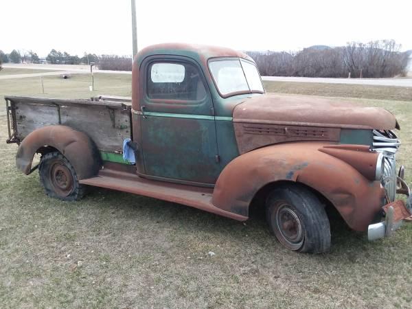 Photo 1946 Chevy pickup - $2,000 (Aberdeen)