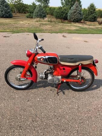 Photo 1965 HONDA SPORT 65 MOTORCYCLE-TITLED - $1,000 (Marshall)