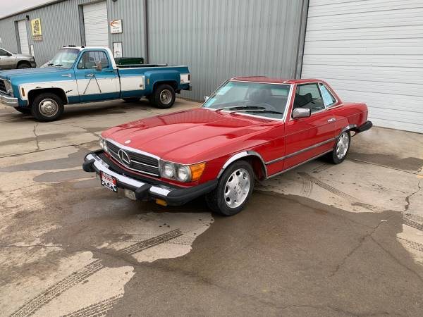 Photo 1978 Mercedes-Benz 450SL - $4889 (Rapid City, SD 57703)