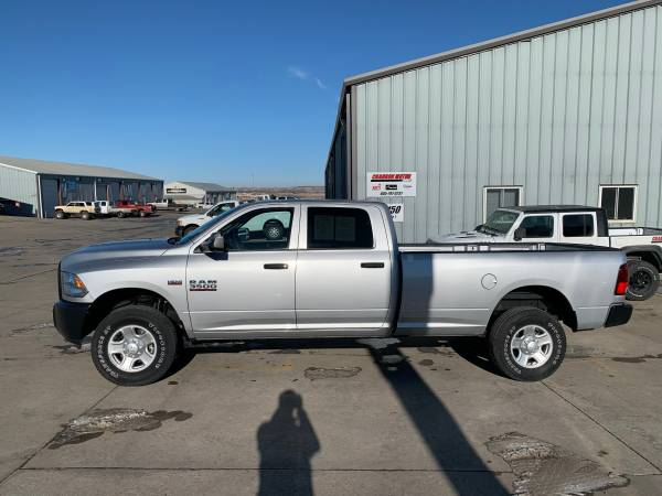 Photo 2018 Ram 3500 Tradesman Crew Cab Long Box - $36988 (Rapid City, SD 57703)