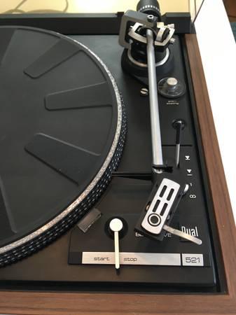 Photo Dual CS 521 Turntable Vinyl Record Player - $125 (Sioux Falls)