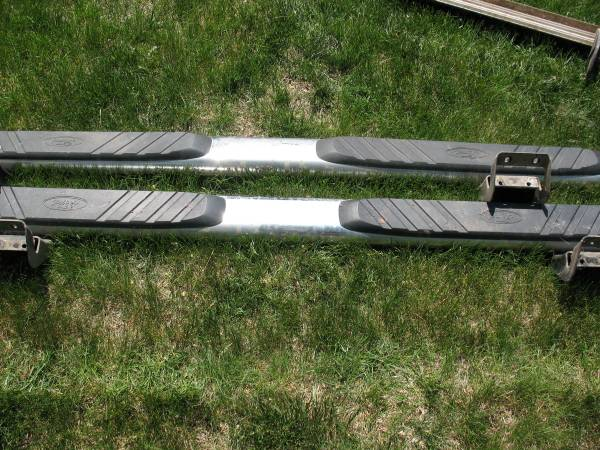 Photo Factory Ford F-150 Running Boards Side Step Bars - $60 (Sioux Falls)