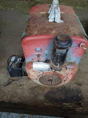 Photo Wisconsin gas engine (Wecota SD)