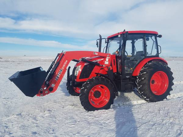 Photo Zetor Major 80 Tractor With Loader Brand New (Avon SD)