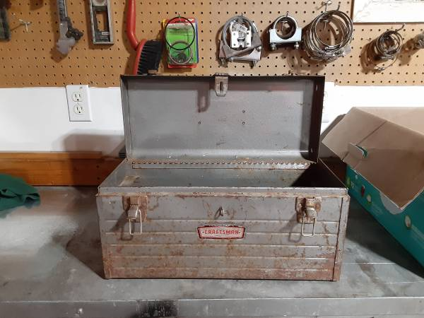 Photo tool box with tools - $30 (Sioux Falls)