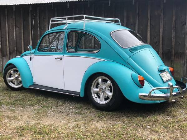 Photo 1965 VW Bug (new motor and air ride) - $12000 (Port LudlowChimacum)