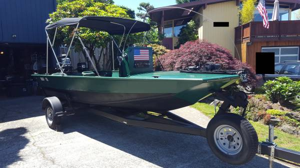 Photo 1977 Gregor Boat - Jet Sled - quotChasin39 Tailquot - $7,500 (Seattle)