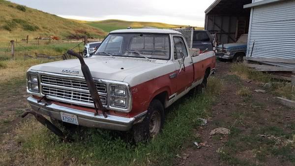 Photo 1979 Dodge Power Wagon - $500 (Waitsburg)