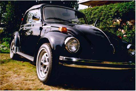 Photo 1979 VW Beetle Convertible - $20000 (Arlington)