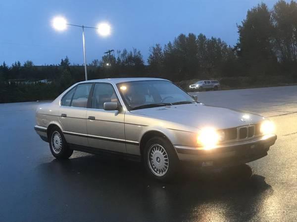 Photo 1993 BMW 525i - $2,700 (Edmonds)