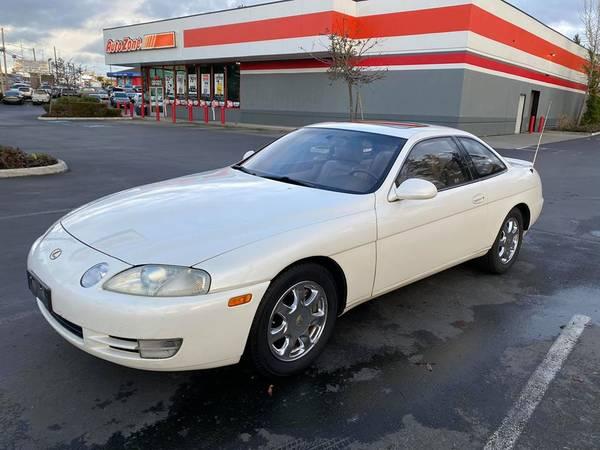 Photo 1995 Lexus SC400 2dr coupe 1 owner - $3950 (20305 HWY 99 LYNNWOOD WA)