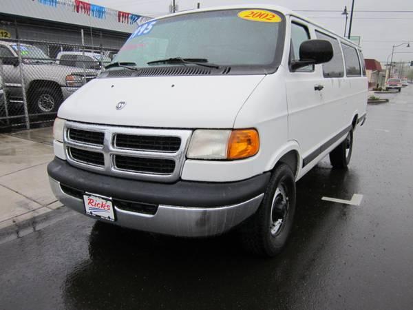 2002 dodge ram3500 van 13 passengers 3995 ricks auto sales cars trucks for sale seattle wa shoppok shoppok