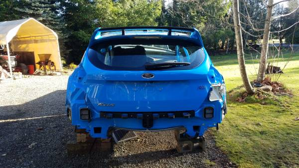 Photo 2017 Ford Focus RS Body (Salvage) - $995 (Covington, WA)