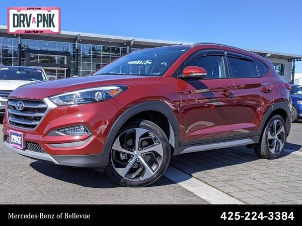 Photo 2018 Hyundai Tucson Sport AWD All Wheel Drive SKUJU795369 - $18596 (Please call 425-224-3384 to Confirm Availability Instantly)