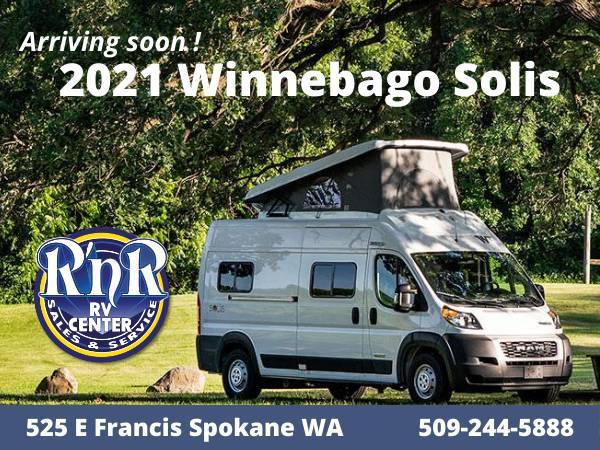 Photo 2021 Winnebago Solis Class B Motor Home (RnR RV Center)