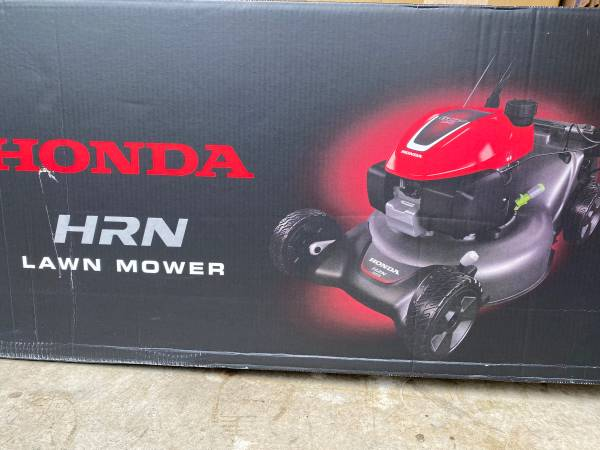 Photo 21 in. Steel Deck Electric Start Gas Walk Behind Self Propelled Mower with Clip - $400 (Seattle)