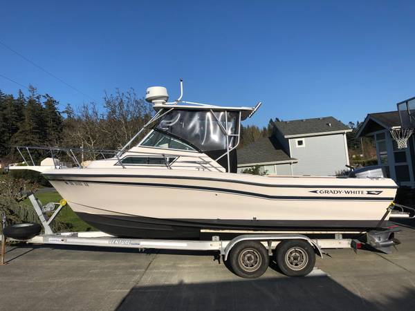 Photo 2239 Grady White Seafarer Hard Top-Super Loaded, Ready to Fish, Reduced - $27900 (Anacortes)